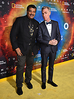 """LOS ANGELES - FEBRUARY 26: Neil deGrasse Tyson (L) and Bill Nye attend National Geographic's 2020 Los Angeles premiere of """"Cosmos: Possible Worlds"""" at Royce Hall on February 26, 2020 in Los Angeles, California. Cosmos: Possible Worlds premieres Monday, March 9 at 8/7c on National Geographic. (Photo by Frank Micelotta/National Geographic/PictureGroup)"""