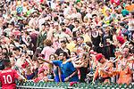 England vs New Zealand during their Plate Semi-final as part of the HSBC Hong Kong Rugby Sevens 2017 on 09 April 2017 in Hong Kong Stadium, Hong Kong, China. Photo by Marcio Rodrigo Machado / Power Sport Images