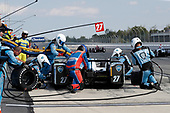 Verizon IndyCar Series<br /> ABC Supply 500<br /> Pocono Raceway, Long Pond, PA USA<br /> Sunday 20 August 2017<br /> Marco Andretti, Andretti Autosport with Yarrow Honda, pit stop<br /> World Copyright: Michael L. Levitt<br /> LAT Images