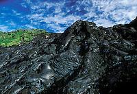 Lava formation, Hawaii Volcanoes National Park, Big Island