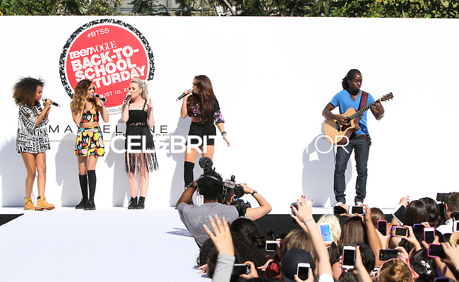 LOS ANGELES, CA - AUGUST 09: Teen Vogue's Back-to-School Saturday Kick-off Event at The Grove on August 9, 2013 in Los Angeles, California. (Photo by Xavier Collin/Celebrity Monitor)