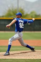 Keaton Hayenga  -  Kansas City Royals - 2009 extended spring training.Photo by:  Bill Mitchell/Four Seam Images