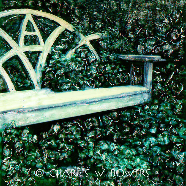 Come sit a while in this lovely garden bench for two. Enjoy the views and enjoy the company.<br /> <br /> -Limited Edition of 50 Prints