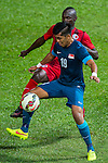 Hong Kong plays Singapore during their Friendly International match on October 10, 2014 at the Mong Kok stadium in Hong Kong, China. Photo by Aitor Alcalde / Power Sport Images
