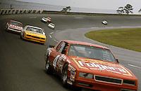 turn 4 action Joe Ruttman pack Pepsi Firecracker 400 at Daytona International Speedway in Daytona Beach, FL on July 4, 1985. (Photo by Brian Cleary/www.bcpix.com)