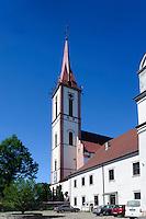 Kirche des Franziskanerklosters in Kretinga, Litauen, Europa