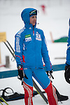 MARTELL-VAL MARTELLO, ITALY - FEBRUARY 02: STARYKH Irina (RUS) after the Women 7.5 km Sprint at the IBU Cup Biathlon 6 on February 02, 2013 in Martell-Val Martello, Italy. (Photo by Dirk Markgraf)