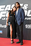 Marta Carriedo and Raul Vidal during the photocall for the 'Fast & Furious 9' Madrid Premiere. June 17, 2021. (ALTERPHOTOS/Acero)