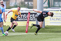 Ben Hellewell of London Broncos scores his team's third try  to make the score 16-0 during the Kingstone Press Championship match between London Broncos and Sheffield Eagles at Castle Bar , West Ealing , England  on 9 July 2017. Photo by David Horn.