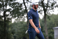 23rd August 2020, Boston, MA, USA;  Dustin Johnson walks to the next tee box  during the final round of The Northern Trust  at TPC Boston in Norton, Massachusetts.