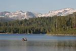 Fishermen at Ice House Reservoir
