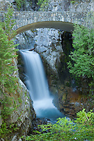 Christine Falls in Mount Rainier National Park