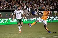 Portland, Oregon - Saturday, July 28, 2018: Portland Timbers vs Houston Dynamo in a match at Providence Park.