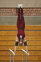STANFORD, CA - JANUARY 9:  Tim Gentry of the Stanford Cardinal during Stanford's Cardinal vs. White intrasquad exhibition match on January 9, 2009 at Burnham Pavilion in Stanford, California.