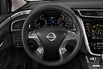 Car pictures of steering wheel view of a 2019 Nissan Murano SL 5 Door SUV Steering Wheel