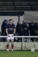 Will Magie of London Scottish during the Greene King IPA Championship match between London Scottish Football Club and Nottingham Rugby at Richmond Athletic Ground, Richmond, United Kingdom on 7 February 2020. Photo by Carlton Myrie.