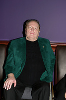 **File Photo** Larry Flynt Has Passed Away.<br /> <br /> Larry Flynt attends Grand Opening of The Hustler Club in NYC on March 17, 2004. <br /> CAP/MPI/LD<br /> ©LD/MPI/Capital Pictures