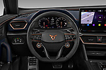 Car pictures of steering wheel view of a 2021 Cupra Formentor - 5 Door SUV Steering Wheel