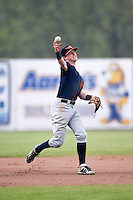 Bowing Green Hot Rods shortstop Jake Cronenworth (2) during a game against the Burlington Bees on May 7, 2016 at Community Field in Burlington, Iowa.  Bowling Green defeated Burlington 11-1.  (Mike Janes/Four Seam Images)