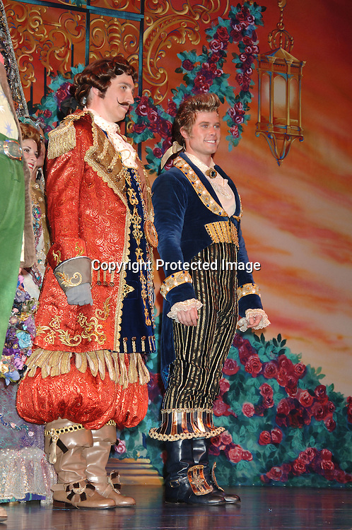 """Jacob Young at the curtain call ..at The 5000th performance of """"Beauty and The Beast"""" party on June 20, 2006 at Planet Hollywood...Jacob Young of All My Children is starring as Lumiere. ..Robin Platzer, Twin Images"""