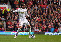 Pictured: Michu. <br /> Sunday 12 May 2013<br /> Re: Barclay's Premier League, Manchester City FC v Swansea City FC at the Old Trafford Stadium, Manchester.