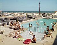Gondolier Motel, Wildwood, NJ  1960's Kiddie Pool