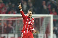of  Corentin Tolisso #24 (FC Bayern Muenchen)  2:0, FC Bayern Muenchen vs. Paris Saint-Germain, Football, , Champions League, 05.12.2017 *** Local Caption *** © pixathlon<br /> Contact: +49-40-22 63 02 60 , info@pixathlon.de