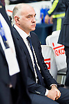 Real Madrid's coach Pablo Laso during the third match of the Liga Endesa Playoff at Barclaycard Center in Madrid. May 31. 2016. (ALTERPHOTOS/Borja B.Hojas)