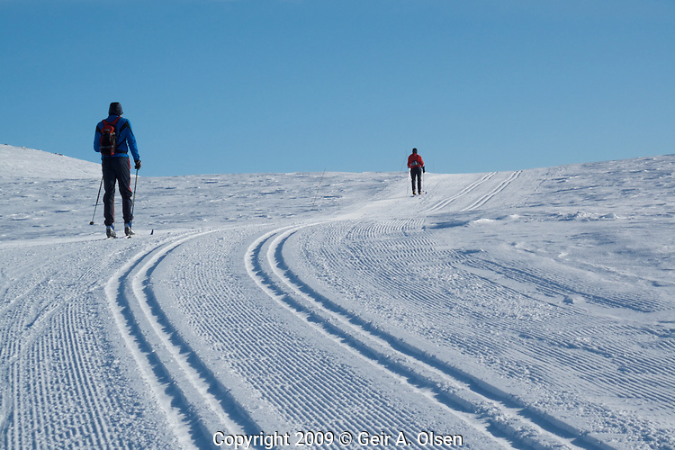 Skitur pa? Venabygdsfjellet februar 2009