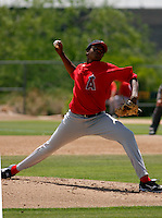 Fabio Martinez -  Los Angeles Angels - 2009 spring training.Photo by:  Bill Mitchell/Four Seam Images