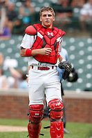 August 8, 2009:  Catcher Kellin Deglin (7) of Team One during the Under Armour All-America event at Wrigley Field in Chicago, IL.  Photo By Mike Janes/Four Seam Images