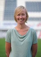 K AA Gent Ladies : dokter Ellen Van Puyvelde<br /> foto Dirk Vuylsteke / nikonpro.be