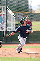 Lonnie Chisenhall, Cleveland Indians 2010 minor league spring training..Photo by:  Bill Mitchell/Four Seam Images.