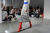 Catwalk<br /> at the David Koma SS18 Show as part of London Fashion Week, London<br /> <br /> <br /> ©Ash Knotek  D3308  18/09/2017