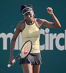 Venus Williams (USA) Defeats Chanelle Scheepers (RSA) 7-5, 7-5