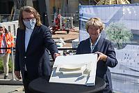 2020/05/28 Berlin | Einheitsdenkmal | Spatenstich