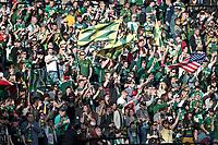 Portland, Oregon - Sunday, April 2, 2017: Portland Timbers vs New England Revolution in a match at Providence Park. Final Score: Portland Timbers 1, New England Revolution 1