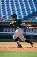 Gabriel Gutierrez (21) of Doral Academy Charter School in Miami, FL during the Perfect Game National Showcase at Hoover Metropolitan Stadium on June 19, 2020 in Hoover, Alabama. (Mike Janes/Four Seam Images)