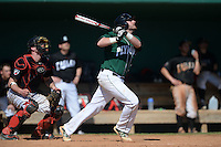 Plymouth State Panthers Jarek Krajewski (31) during the first game of a doubleheader against the Edgewood Eagles on March 17, 2015 at Terry Park in Fort Myers, Florida.  Edgewood defeated Plymouth State 12-3.  (Mike Janes/Four Seam Images)