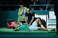 Rotterdam, The Netherlands, February 13, 2016,  ABNAMROWTT, Nicolas Mahut (FRA) - Vasek Pospisil (CAN)<br /> Photo: Tennisimages/Henk Koster