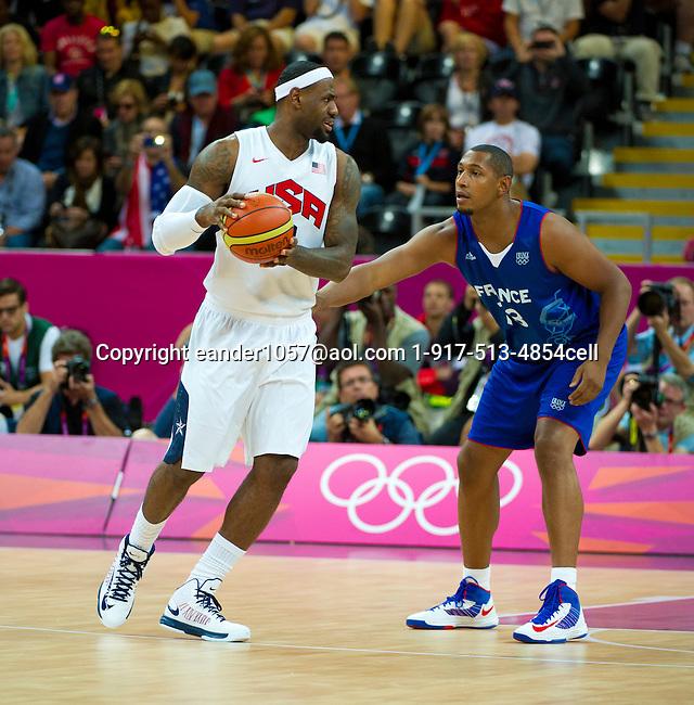 2012 Olympic Games USA Men's Basketball 98 France 71 London 2012 July 29, 2012
