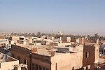 IRAQ, MOSUL:  A view of eastern Mosul with the ....Photo by Bashar Adnan/Metrography