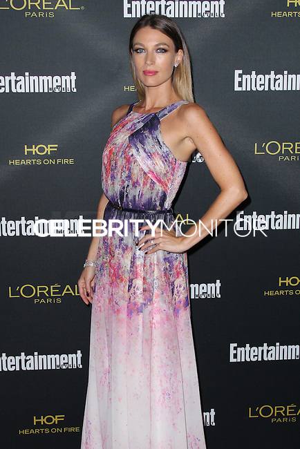 WEST HOLLYWOOD, CA, USA - AUGUST 23: Natalie Zea arrives at the 2014 Entertainment Weekly Pre-Emmy Party held at the Fig & Olive on August 23, 2014 in West Hollywood, California, United States. (Photo by Xavier Collin/Celebrity Monitor)