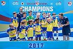 U-10 Juniors Tournament Cup Final match, part of the HKFC Citi Soccer Sevens 2017 on 28 May 2017 at the Hong Kong Football Club, Hong Kong, China. Photo by Marcio Rodrigo Machado / Power Sport Images