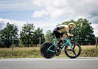 Lennard Hofstede (NED/Jumbo-Visma)<br /> <br /> Stage 4 (ITT): Roanne to Roanne (26.1km)<br /> 71st Critérium du Dauphiné 2019 (2.UWT)<br /> <br /> ©kramon