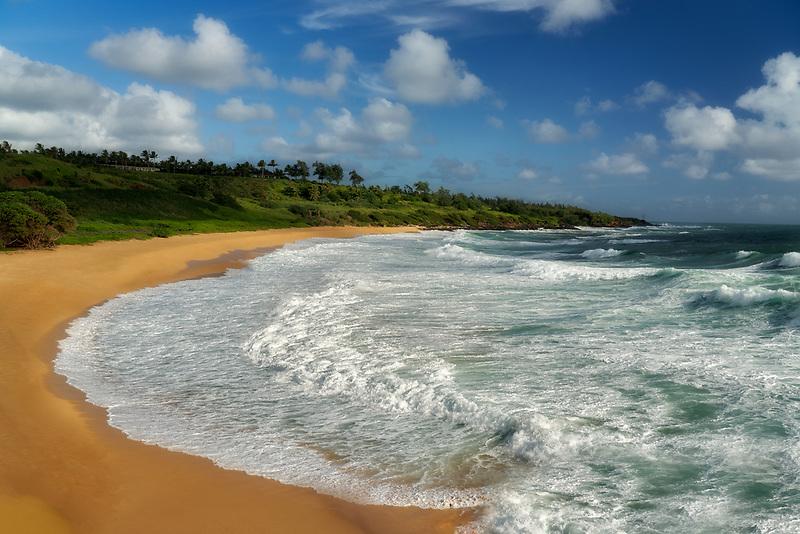 Donkey Beach. Kauai, Hawaii.