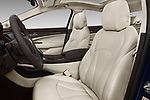Front seat view of a 2019 Buick LaCrosse Essence 4 Door Sedan front seat car photos