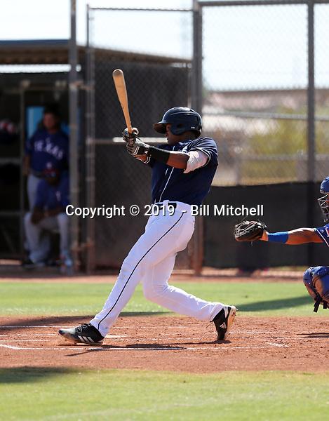 Junior Perez - 2019 AIL Padres (Bill Mitchell)
