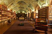 Bibliothek im Kloster Strahov, Prag, Tschechien, Unesco-Weltkulturerbe
