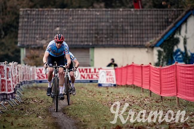 Michael Vanthourenhout (BEL/Pauwels Sauzen-Bingoal)<br /> <br /> UEC Cyclocross European Championships 2020 - 's-Hertogenbosch (NED)<br /> <br /> Elite MEN<br /> <br /> ©kramon